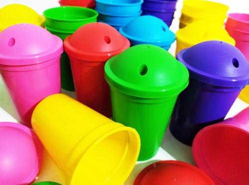Vasos Plásticos Milkshake Para Souvenirs X20