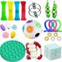 24pcs Fidget Cube Anti Stress Toy Rubik Cube Ball