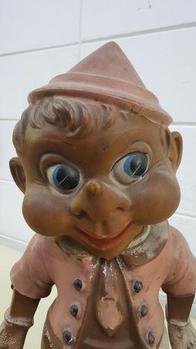 Pinoquio Boneco Vintage Anos 60