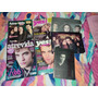 Lote Revistas, Posters E Livro Crepúsculo, Robert Pattinson