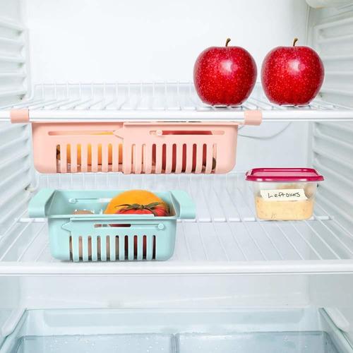 Organizador De Refrigerador Extendible / Hogar Cocina
