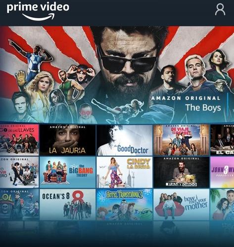 Amazon Prime 100% Original Garantizado Renueva Mes A Mes!!