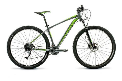 Mountain Bike Raleigh Mojave 5.5 R29 17  27v Frenos De Disco Hidráulico Cambios Shimano Acera M3000 Color Gris/verde
