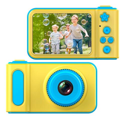 Camara Digital Para Niños Foto Video Portatil Recargable