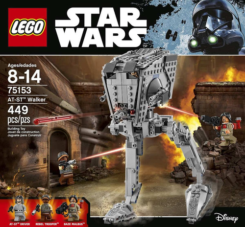 Lego Star Wars 75153 Figura Caminante At-st 449 Pzs