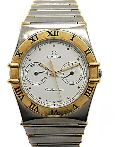 Omega Costalation Aço E Ouro 18k Relógio Classico J23286
