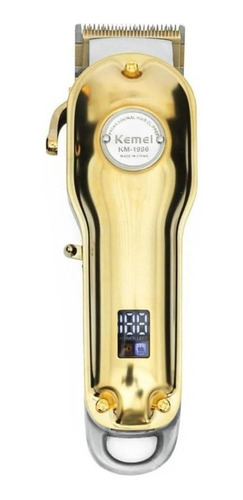 Kemei Km-1986  Dourado 100v/240v