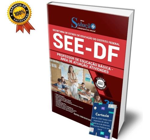 Apostila Concurso Peb See Df Educação Básica Atividades