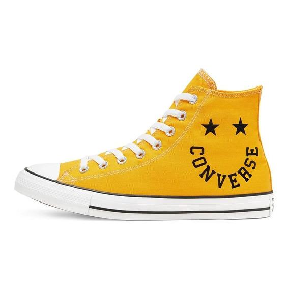 Botitas Converse All Star Amarillo Smile Nueva Coleccion
