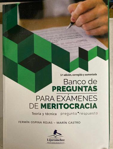 Banco De Preguntas Para Exámenes De Meritocracia 2020