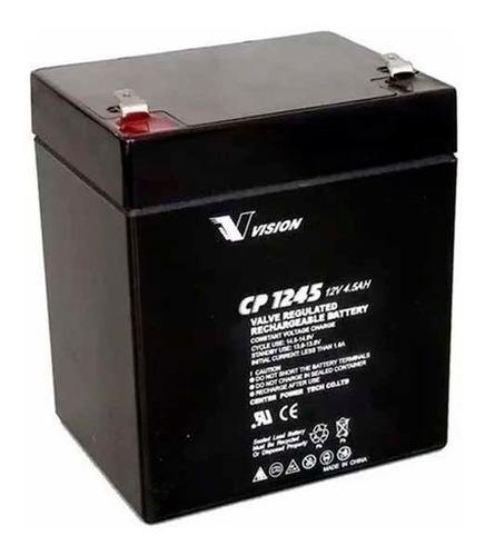 Bateria 12v 4.5ah Vision Cp1245k Ups Apc Cdp Eaton Tripplite