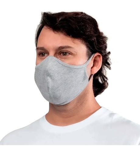 Kit 3 Máscaras Proteção Ninja Lavável Dupla Camada Mash