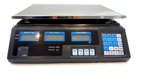 Balança Eletrônica Digital 40kg Alta Precisão/bateria 220v