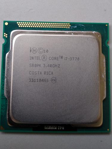 Processador Core I7 3770 Usado Sem O Cooler