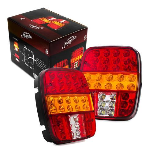Lanterna Traseira P Caminhao Ford F350 F4000 F1000 Luz D Led