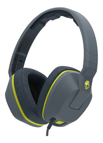 Auriculares Skullcandy Crusher Gray Y Hot Lime