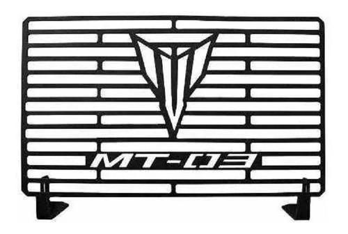 Protetor De Radiador Mt03 Mt 03 Aço Carbono 2019 2020 2021