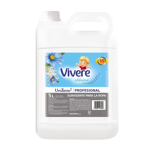 Suavizante Vivere Clásico Profesional En Botella 5 L