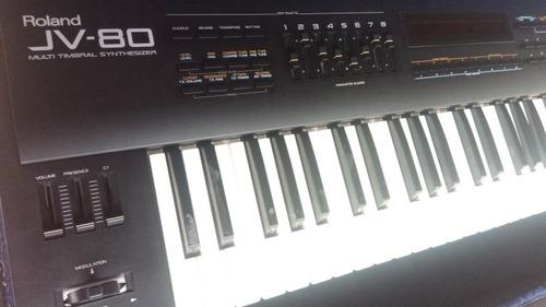 Teclado Sintetizador Roland Jv 80 No Korg Yamaha Casio
