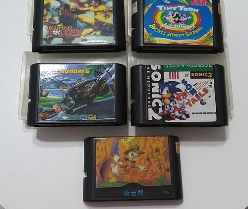 Lote De Juegos De Sega. Todos Funcionan Perfectamente