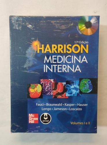 Harrison Medicina Interna 2 Vols 17ª Edição Fauci Braunwald