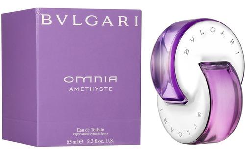 Perfume Bvlgari Omnia Amethyste Amatista Original Mujer 65ml