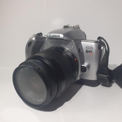 Câmera Analógica Canon Eos Rebel Ti 300v C/ Lente 35-80mm