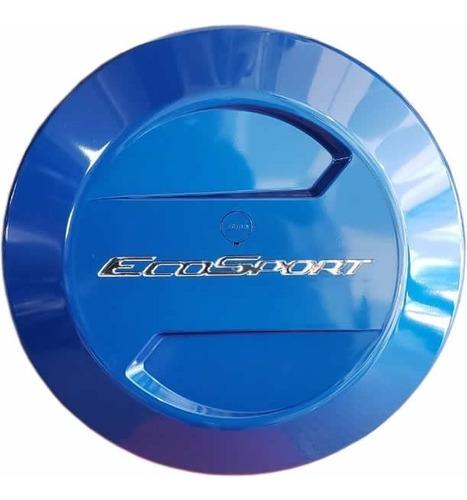 Cubre Rueda Bepo Para Ford Ecosport Kinetic Azul Belice