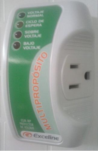 Protector De Voltaje Multipropósito Exceline Como Nuevos