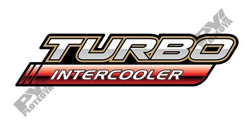 Calco Turbo Intercooler De Toyota Hilux  Calcomania Ploteoya!