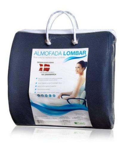Almofada Comfort Gel Azul 041x041x09,5 Cm