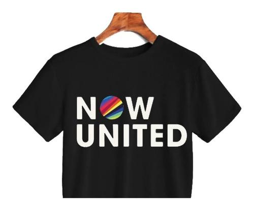 Cropped Camiseta Now United Super Oferta Original