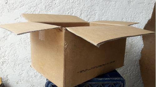 Caja Cartón Fuerte 10 Unidades Usadas Buen Estado