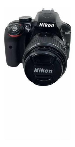 Camera D3300 18 55mm Dx Vr Perfeito Estado Com 3.130clicks