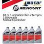Óleo Motor Popa 3.3 5 8 15 2 Tempos Quicksilver Tc w3 Cx 6un