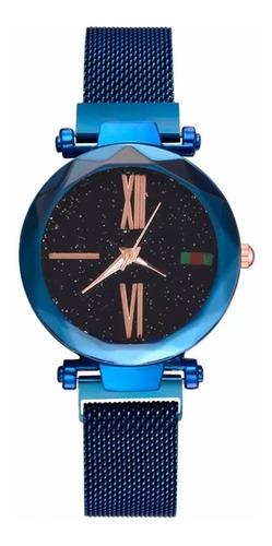 Reloj Cielo Estrellado Correa Magnetica En Acero