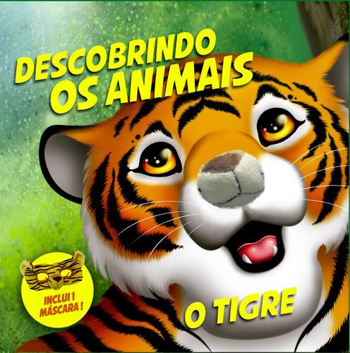 Kit Livro E Máscara De Pelúcia Descobrindo Os Animais