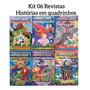 Kit Pró Games Revistas Em Quadrinhos Minecraft