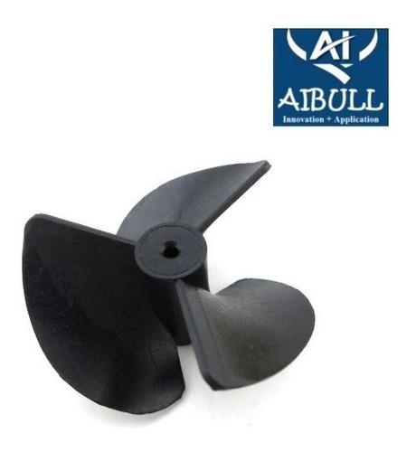 Helice Nylon Tripa 40mm 1.9mm Rc Barco Lancha Nautica
