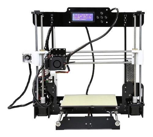Impresora 3d Anet A8 Color Black/transparent 110v/220v Con Tecnología De Impresión Fdm