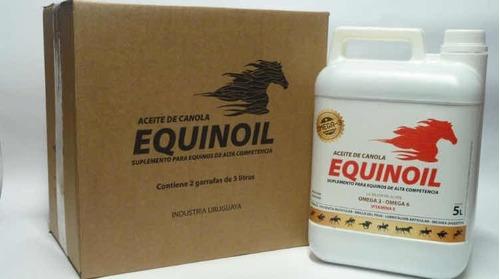 Equinoil Aceite De Canola 5 Litros Equinos
