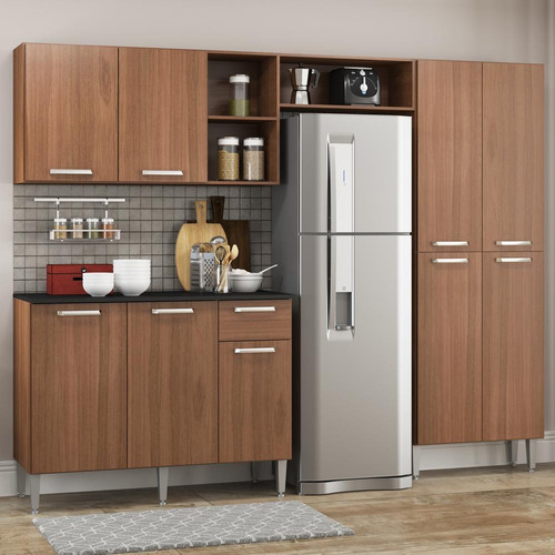 Cozinha Completa Compacta Pequim Up Multimóveis