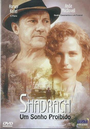 Dvd Shadrach Um Sonho Proibido - Andie Macdowell - Original