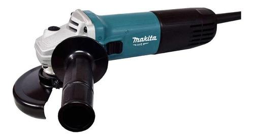 Esmerilhadeira Angular Makita Mt M9510 De 50hz/60hz Azul-turquesa 850 W 220 V - 240 V