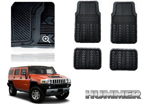 Tapetes 4 Piezas Hummer H2 2003 Marca Race Track