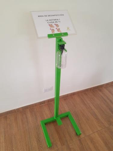 Base Dispensador Gel Tráfico Pesado + Hablador