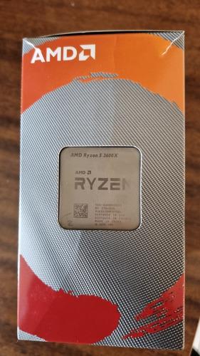Processador Ryzen 5 3600x Na Caixa Com Cooler Box