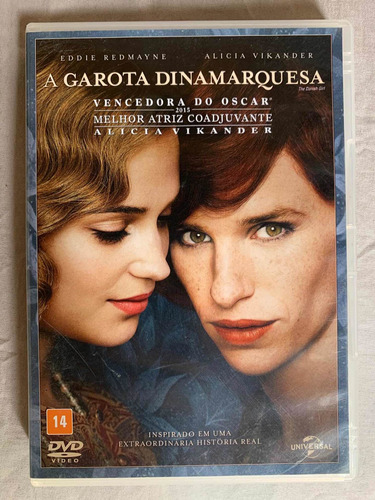Dvd A Garota Dinamarquesa