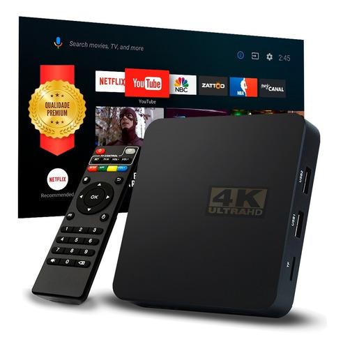 1 Tv Box Aparelho Android Converta Sua Tv  Em Smart Promoção