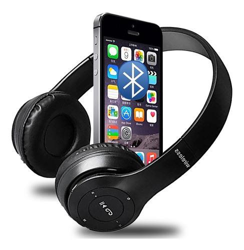 Fone De Ouvido Sem Fio Bluetooth Headphone Extra Bass